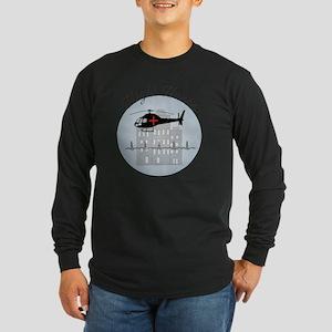 Flight Nurse Long Sleeve Dark T-Shirt