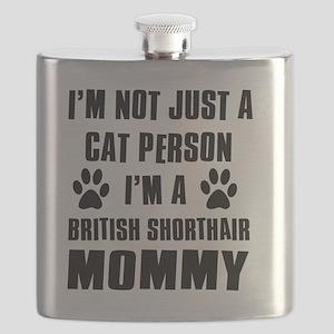 British Shorthair Flask