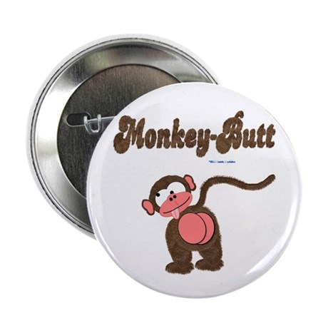 """Monkey-Butt 2.25"""" Button (10 pack)"""