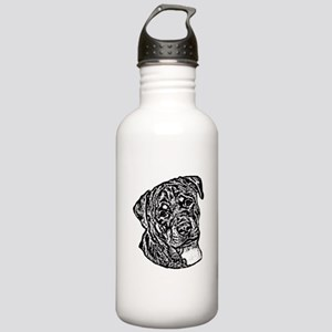 B@W Rottweiler Stainless Water Bottle 1.0L