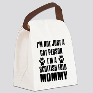 Scottish Fold Canvas Lunch Bag