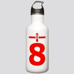 Northern Ireland red n Stainless Water Bottle 1.0L