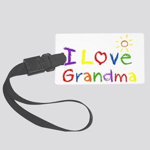 ilovedgrandma Large Luggage Tag
