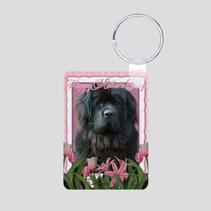 PinkTulipsNewfoundland_5x7 Aluminum Photo Keychain