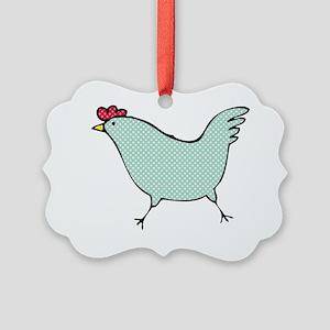 chick-big-2 Picture Ornament