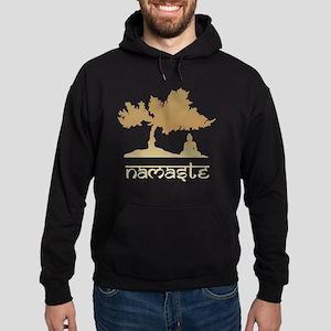 namaste8 Hoodie (dark)