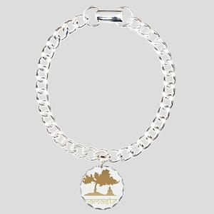 namaste8 Charm Bracelet, One Charm