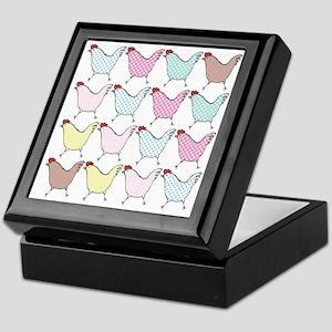 chick-dots Keepsake Box