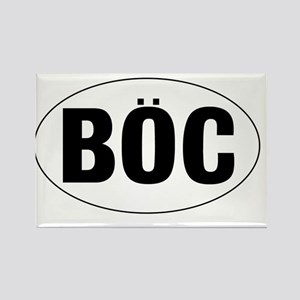 Oval-BOC Rectangle Magnet