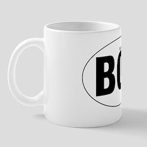 Oval-BOC Mug