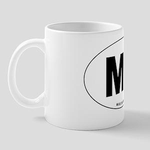 Oval-MB Mug