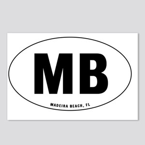 Oval-MB Postcards (Package of 8)