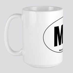 Oval-MB Large Mug