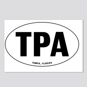 Oval-TPA Postcards (Package of 8)