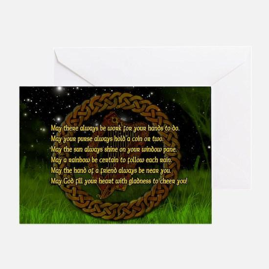 IRISH-BLESSING-14x10_LARGE-FRAMED-pr Greeting Card