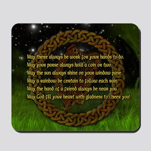 IRISH-BLESSING-14x10_LARGE-FRAMED-print Mousepad