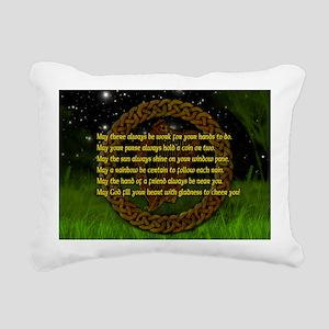 IRISH-BLESSING-14x10_LAR Rectangular Canvas Pillow