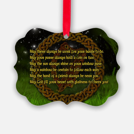 IRISH-BLESSING-14x10_LARGE-FRAMED Ornament