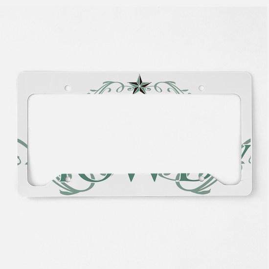 Howdy_Trans License Plate Holder