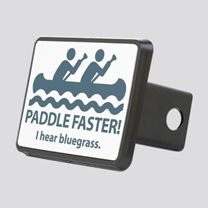 PaddleFasterIHearBlueGrass Rectangular Hitch Cover