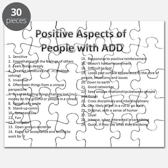 PositiveAspectsofADD Puzzle