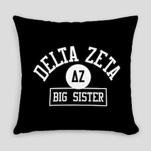 Delta Zeta Big Sister Everyday Pillow