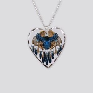 Stellers Jay Mandala - transp Necklace Heart Charm