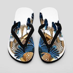 Stellers Jay Mandala - transparent Flip Flops