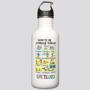 TW Stainless Water Bottle 1.0L