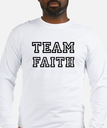 Team FAITH Long Sleeve T-Shirt