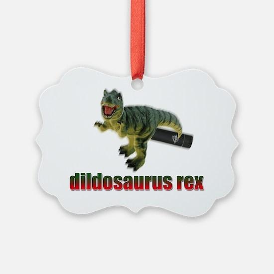 dildosaurus_rex_01 Ornament