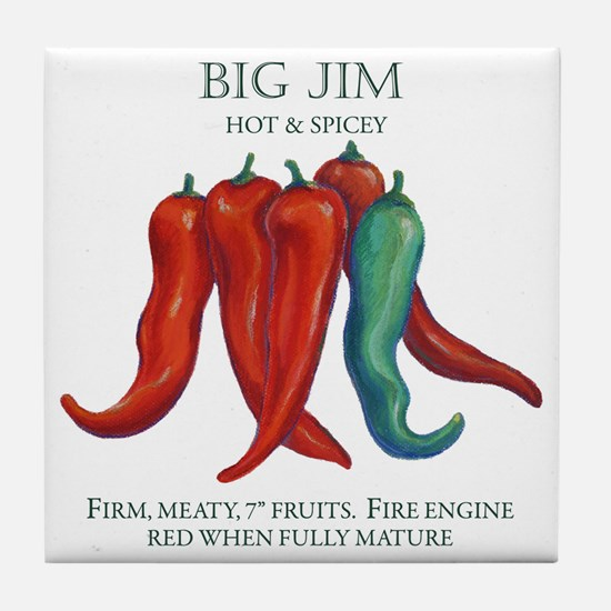 BIG JIM copy Tile Coaster