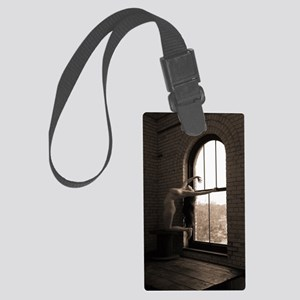87 Large Luggage Tag