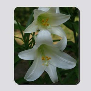 EasterLily2Shower Mousepad