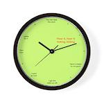 """Ticking"" Wall Clock"