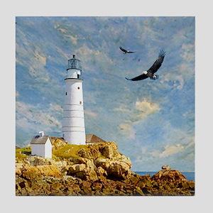 Lighthouse7100 Tile Coaster