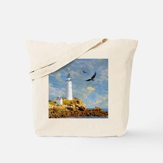 Lighthouse7100 Tote Bag