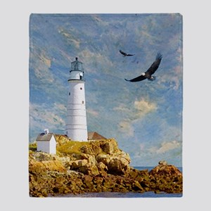 Lighthouse7100 Throw Blanket