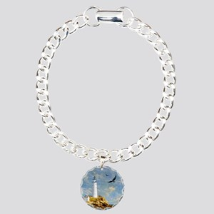 Lighthouse7100 Charm Bracelet, One Charm