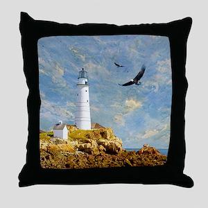 Lighthouse7100 Throw Pillow