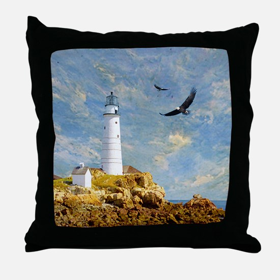 Lighthouse7100 Throw Pillow