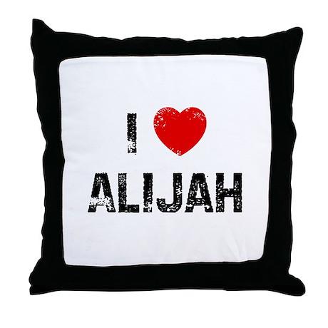 I * Alijah Throw Pillow