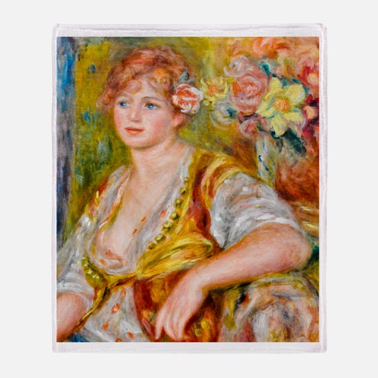 FF Renoir C Throw Blanket