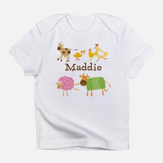 Farm Animals Customized Infant T-Shirt