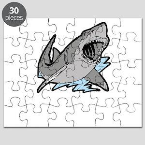 sharkattackwhite Puzzle
