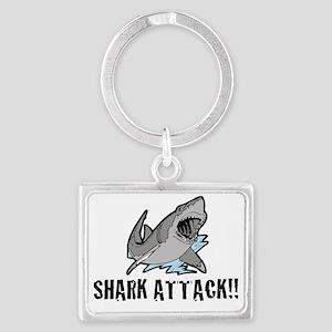 sharkattack Landscape Keychain