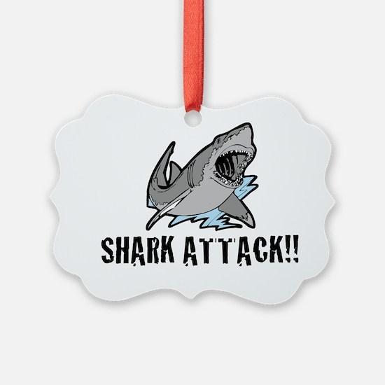 sharkattack Ornament