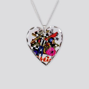 FIFTIES Necklace Heart Charm
