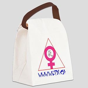 WEPN Logo 1-transp website 2 Canvas Lunch Bag