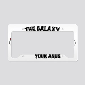thegalaxy License Plate Holder